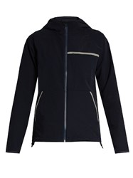 Outdoor Voices X A.P.C Hooded Performance Jacket Navy