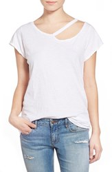 Junior Women's Lna 'Desert' Ripped Tee