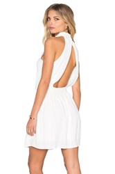 Eternal Sunshine Creations Mackenzie Halter Dress White
