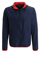 Your Turn Active Windbreaker Navy Blazer Dark Blue