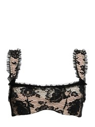 Chantal Thomass Dentell'icieuse Lace And Tulle Demi Bra