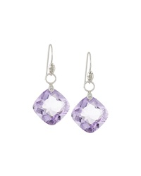 Jude Frances 18K Amethyst And Diamond Earring Charms Purple