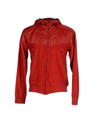 Diadora Heritage Coats And Jackets Jackets Men Red