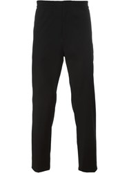 Msgm Casual Trousers Black
