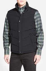 Men's Nordstrom Quilted Down And Feather Fill Vest Black Caviar