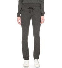 Wildfox Couture Malibu Skinny Jogging Bottoms Clean Black