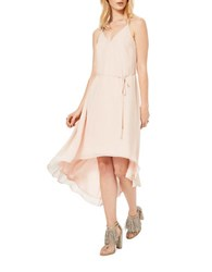 Miss Selfridge Waterfall Hem Midi Dress Pink