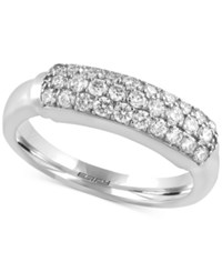 Macy's Trio By Effy Diamond Ring 5 8 Ct. T.W. In 14K White Yellow Or Rose Gold White Gold