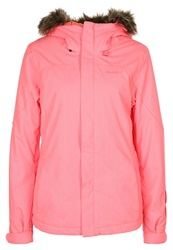 O'neill Curve Snowboard Jacket Neon Tangerine Pink