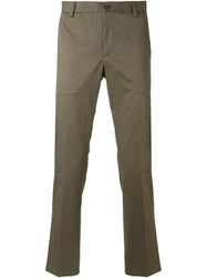 Etro Slim Tailored Trousers Nude And Neutrals