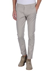Grey Daniele Alessandrini Trousers Casual Trousers Men Beige