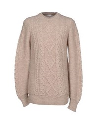 Gold Case By Rocco Fraioli Sweaters Beige