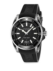 Gucci Dive Stainless Steel Watch Black