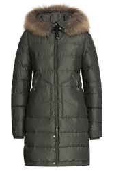 Parajumpers Down Parka With Detachable Fur Trimmed Hood Gr. Xs