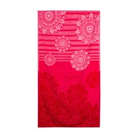 Desigual Romantic Patch Jacquard Towel Hand