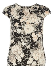 Dorothy Perkins Billie And Blossom Floral Print Shell Top Multi Coloured