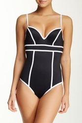 Spanx Sweetheart One Piece Swimsuit Black