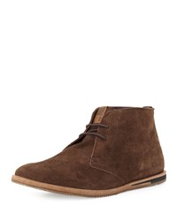 Ben Sherman Aberdeen Suede Chukka Boot Chocolate
