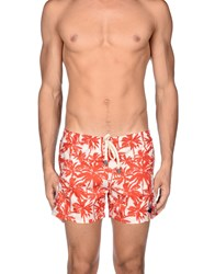 Macchia J Swimwear Swimming Trunks Men Rust