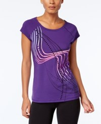 Ideology Ombre Graphic T Shirt Only At Macy's Night Iris