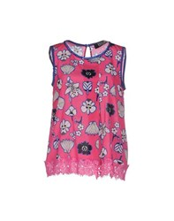 Vdp Collection Topwear Tops Women Fuchsia