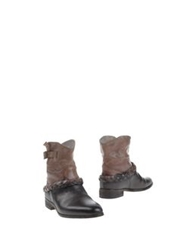 Primabase Ankle Boots Khaki
