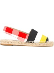 Stella Mccartney Slingback Espadrilles Multicolour
