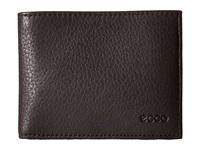 Ecco Gordon Slim Wallet Coffee Wallet Handbags Brown