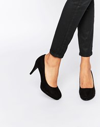 Oasis Court Shoe Black