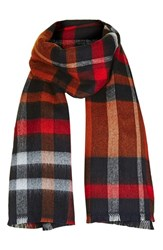 Topshop Women's Check Scarf