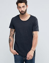 Only And Sons Scoop Neck T Shirt Black Grey