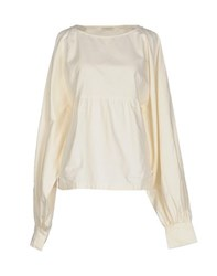 Dries Van Noten Shirts Blouses Women Ivory