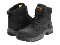 Dr. Martens Work Falcon Sd 6 Tie Boot Black Industrial Greasy Men's Work Lace Up Boots Gray