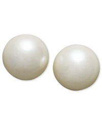Charter Club Simulated Pearl Stud 6 Mm