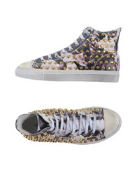 Gienchi Footwear High Tops And Trainers Women Dark Purple