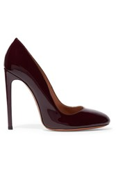 Alaia Patent Leather Pumps Red