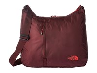 The North Face Flyweight Tote Deep Garnet Red Tnf Red Tote Handbags Brown