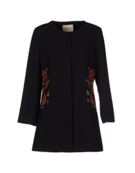 Darling Full Length Jackets Black