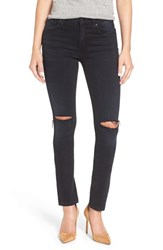 James Jeans Women's 'Twiggy' Ripped Skinny Baroque