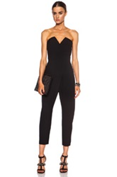 Camilla And Marc Sittella Poly Jumpsuit In Black