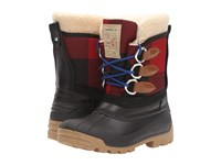 Dsquared Winter Boot Black Red Women's Cold Weather Boots