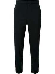 Scanlan Theodore Tailored Elastic Cuff Trousers Black