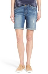Women's Kut From The Kloth 'Catherine' Boyfriend Shorts Teamwork