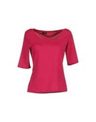 Cruciani Short Sleeve T Shirts Pink