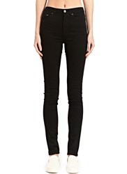 Acne Studios Pin High Rise Jeans Black