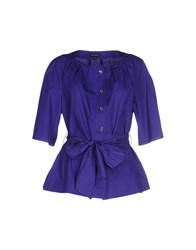 Escada Shirts Shirts Women Dark Purple