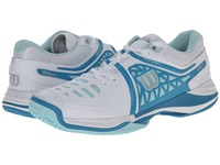 Wilson Nvision Elite White Mint Ice Women's Tennis Shoes Gray