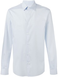 Melindagloss French Collar Shirt Blue