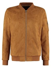 Urban Classics Faux Leather Jacket Toffee Camel
