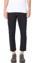 Obey Straggler Flooded Pants Midnight